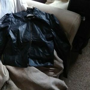 Black bomer jacket brand new never worn